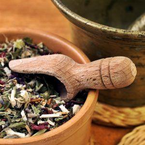 medicina natural foto de hierbas